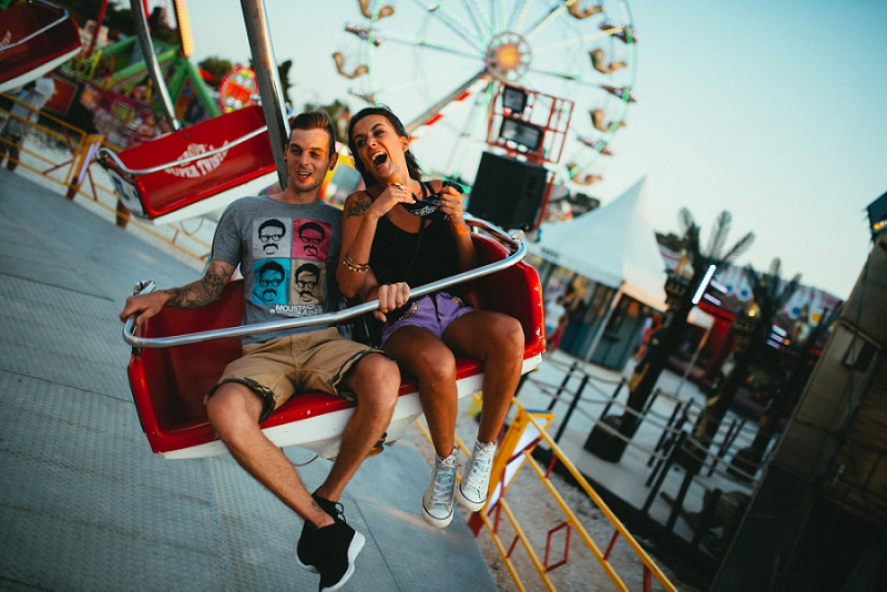 Petra and Boris: Hipster love in a Luna Park