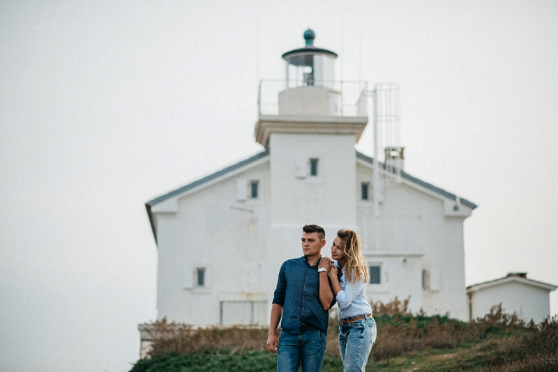 Olha & Yevgeny: Love by the lighthouse