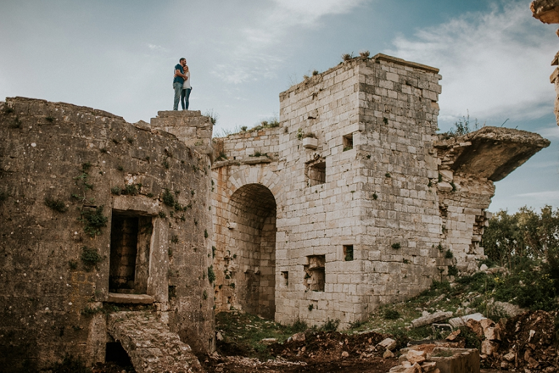 Istria pre-wedding session | Love on the Monte Grosso fortress