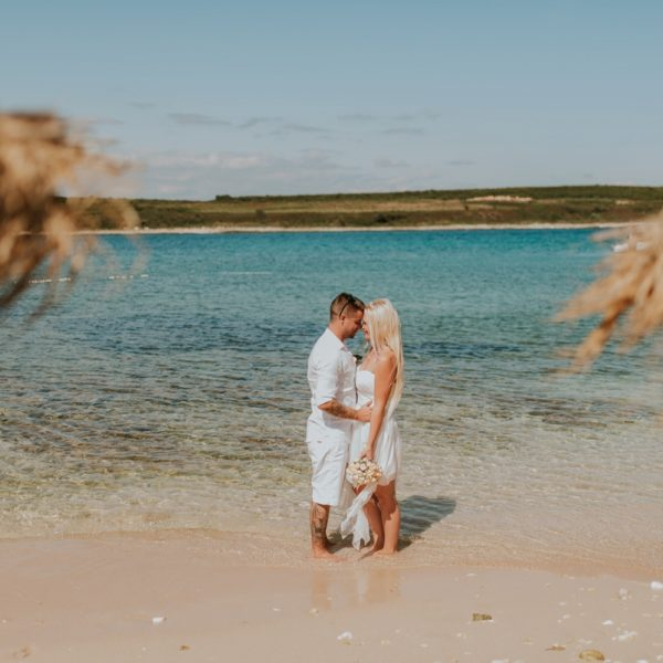 Levan beach wedding | Mateja & Mitja
